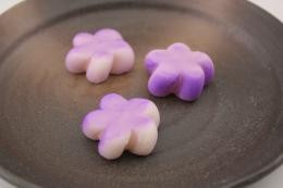 飾り花 紫  30個   【冷凍】