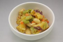 さつま芋と豆のハニーマスタード 500g×24袋   【冷凍】