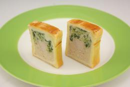 チキンのパテ 2本入×20   【冷凍】